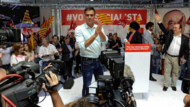 Pedro Sánchez - PSOE -Cataluña