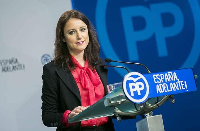 Andrea Levy, vicesecretaria de Estudios y Programas del PP.