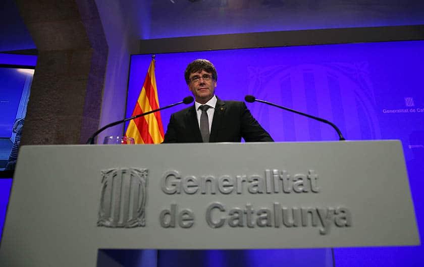 Puigdemont se inclina por convocar elecciones.