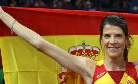 La atleta Ruth Beitia.