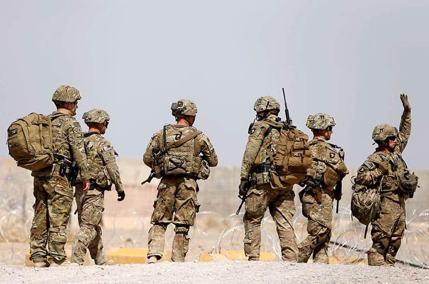 Soldados de la OTAN en Afganistán.