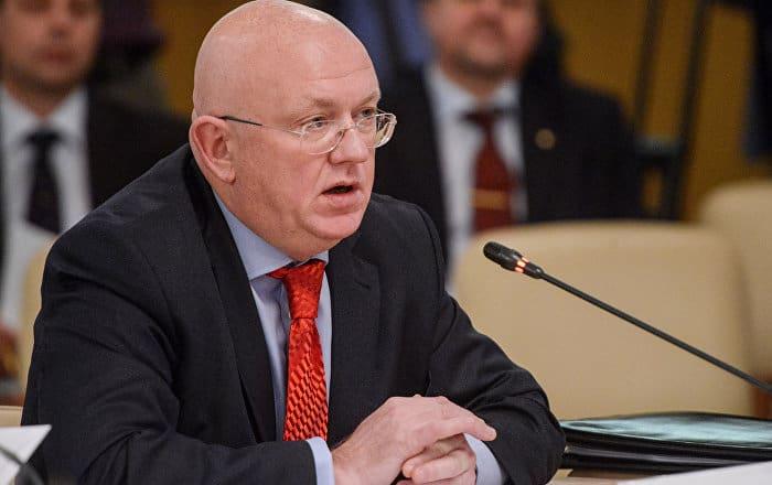 El nuevo representante permanente de Rusia ante la ONU, Vasili Nebenzia.