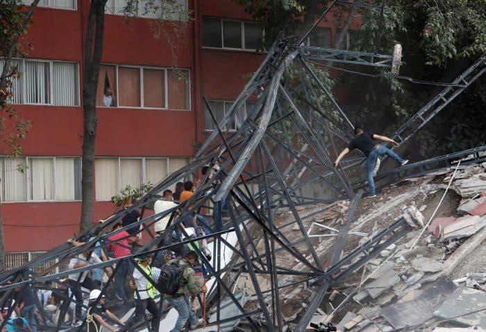 Seísmo Centenares de muertos en México en medio del caos, el miedo y la ruina