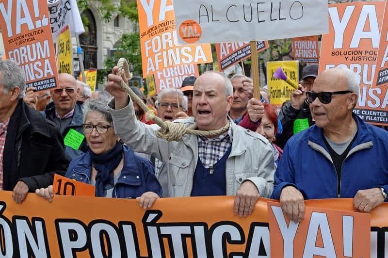 Fórum Filatélico. La intervención judicial tuvo lugar en mayo de 2006. Francisco Briones se enfrenta a una petición de condena de hasta 27 años de cárcel.