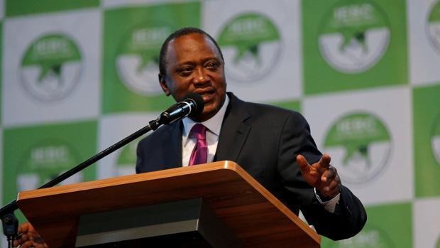 Kenia La NASA rechazó los resultados oficiales, que concedieron la victoria a Kenyatta con 1,4 millones de votos