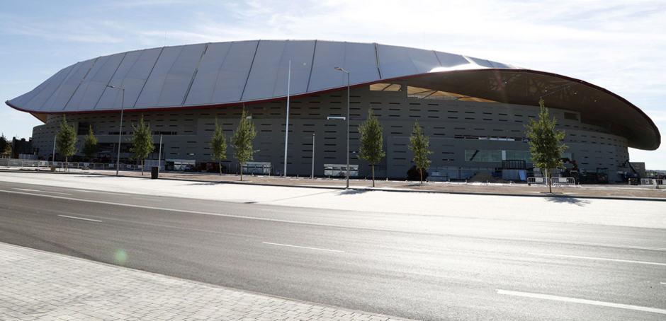 Wanda Metropolitano, construido por FCC, abre sus puertas