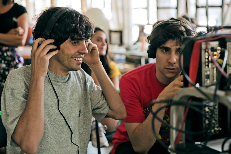 Los directores de 'La Llamada'.