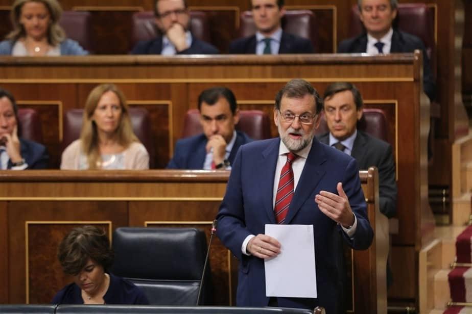 El presidente del Gobierno, Mariano Rajoy, sobre las elecciones en Cataluña.