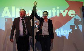 Dirigentes del partido que impulsa la xenofobia, Alternativa para Alemania.