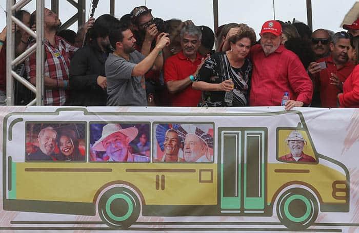 Dilma Rousseff y Lula da Silva, denunciados por asociación ilícita.