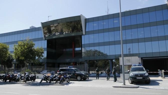 El Centro de Telecomunicaciones catalán.
