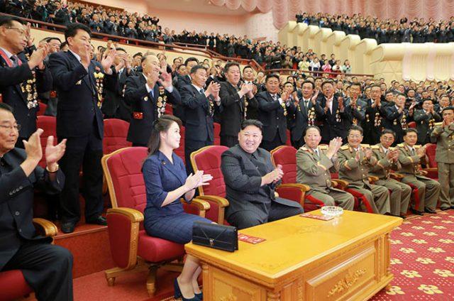 El líder de Corea del Norte Kim Jong Un.
