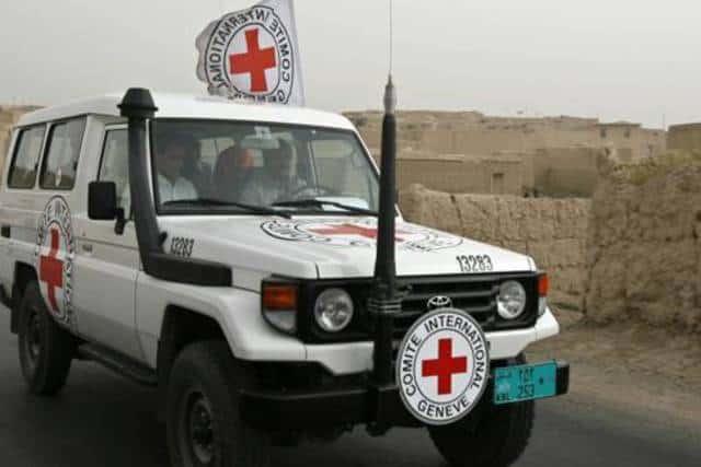 Cruz Roja de Afganistán.