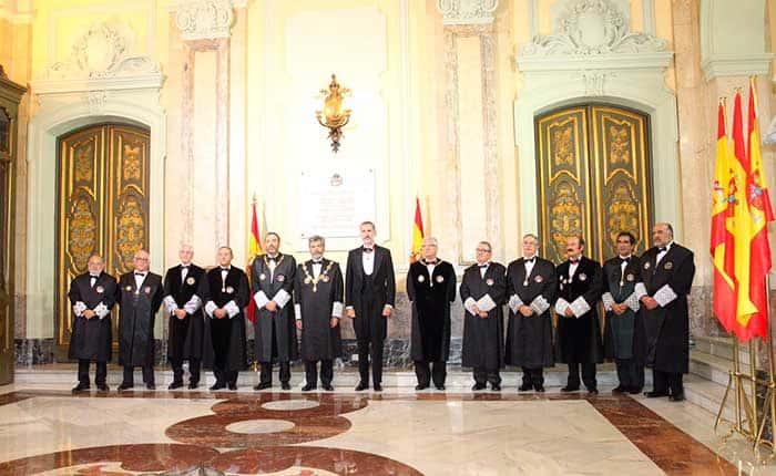 Felipe VI en la apertura del Año Judicial