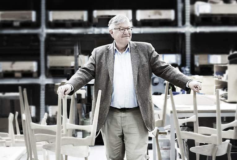 Los muebles de Carl Hansen & Son se destacan por su estética y funcionalidad.