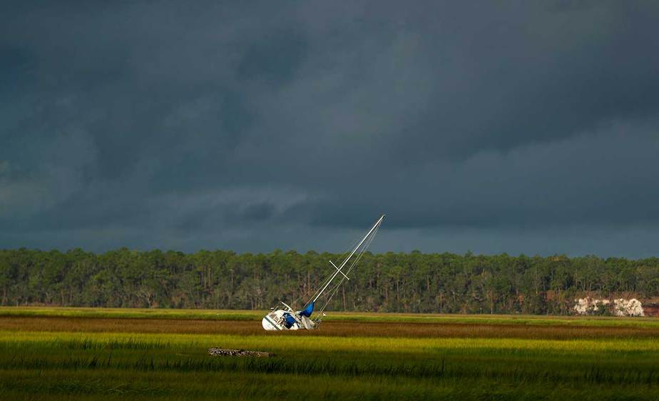 El paso de Irma por Florida (EEUU). Foto: Reuters