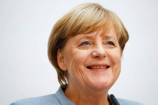 La incombustible canciller alemana Angela Merkel.