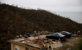 Devastación en Puerto Rico tras el paso del huracán María (Reuters)