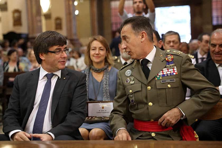 Puigdemont ha convocado la Junta de Seguridad.