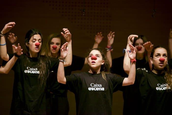"""Educaixa un documental producido por CaixaEscena, el programa de la Obra Social """"la Caixa"""" que promueve la práctica teatral en las escuelas"""