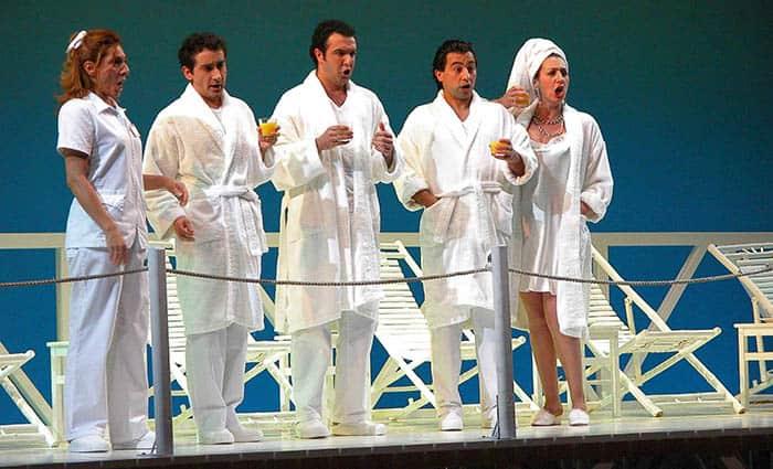 'Il viaggio a Reims' estrena la temporada del Liceu.