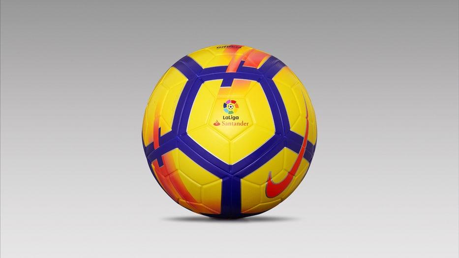 La Liga presentó el nuevo balón de invierno