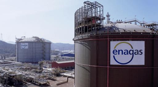 Enagás gana un 18,4% más por la consolidación de GNL Quintero