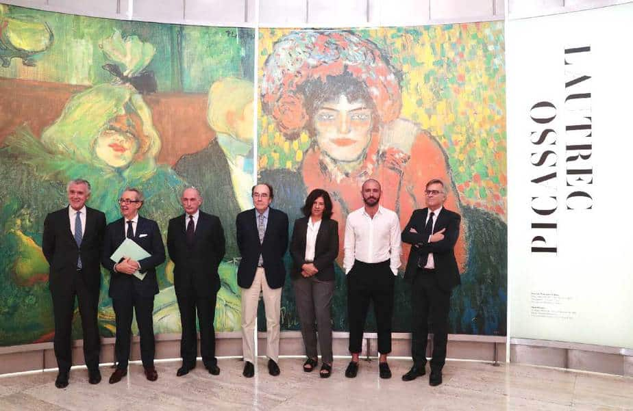 Museo Thyssen expo Picasso y Lautrec