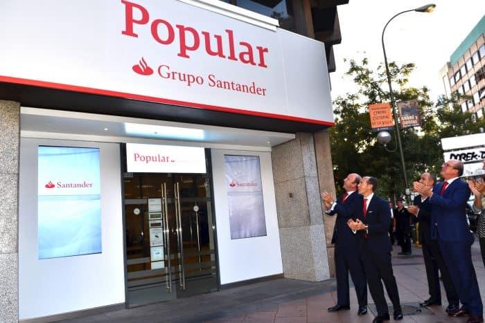 Integración Santander inicia la integración con Popular con ventajas para los clientes