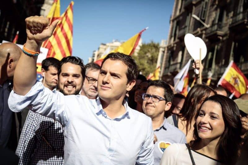 Ciudadanos imparable Albert Rivera podría obtener hoy 21 escaños más
