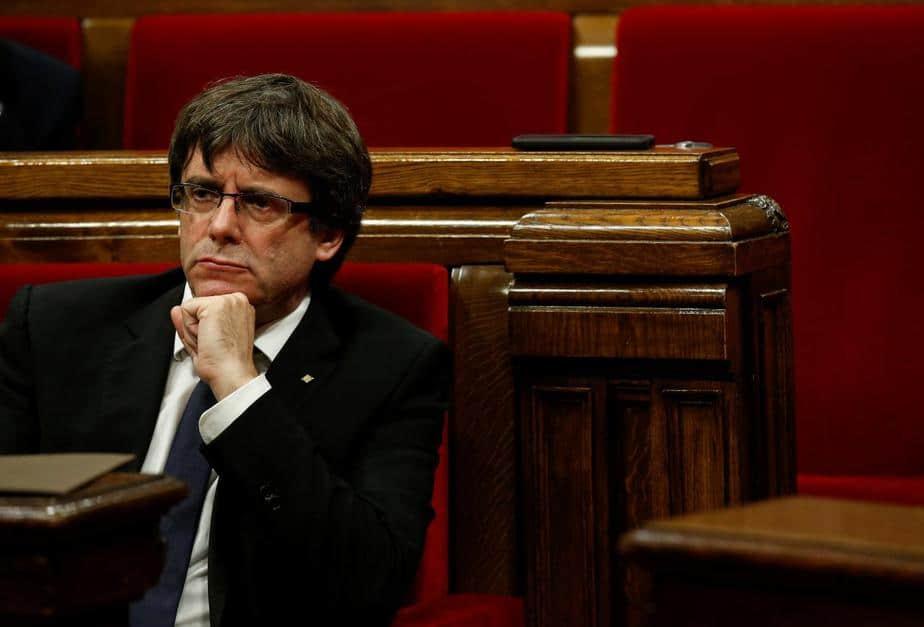 El president catalán Carles Puigdemont.
