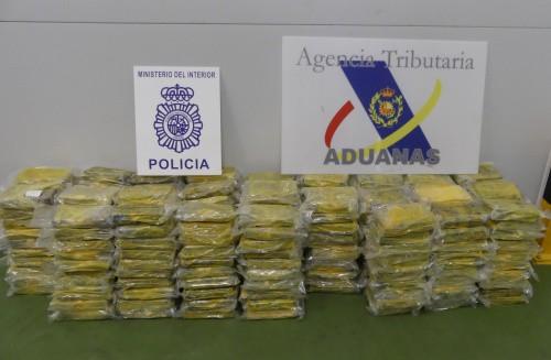 Incautación de cocaína en Algeciras.