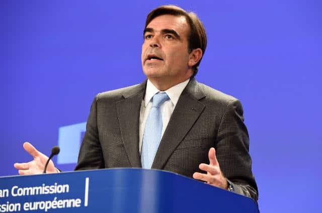 El portavoz de la Comisión Europea, Margaritas Schinas.