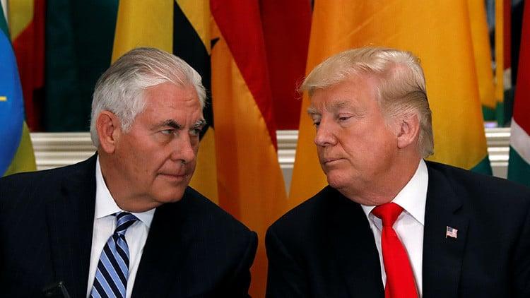 La relación de Rex Tillerson y Donald Trump ha estado en la mira de los medios estadounidenses