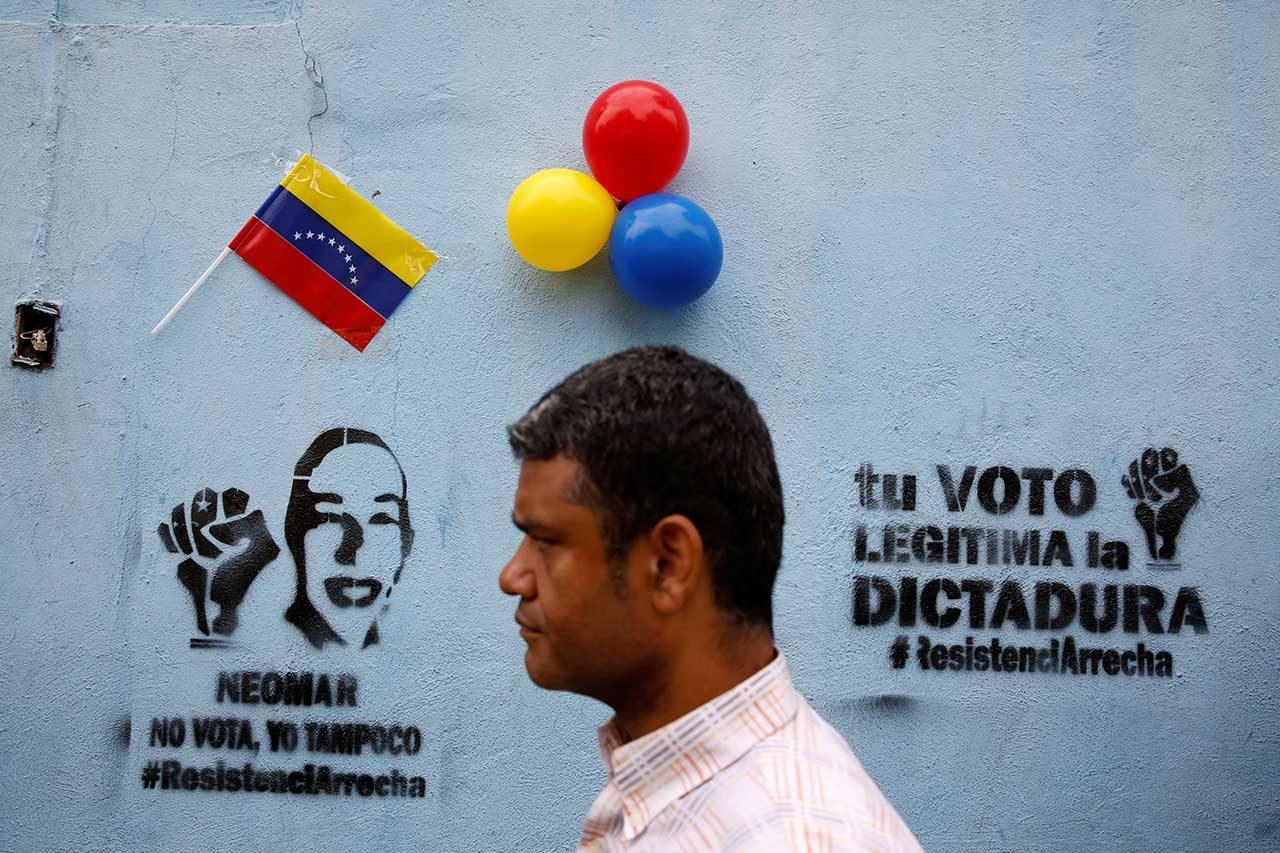 Resultado de imagen para opositores no quieren votar en venezuela no voto