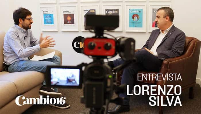 Entrevista a Lorenzo Silva, que habla sobre el procés de Cataluña.