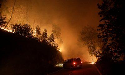 El fuego arrasa Galicia.
