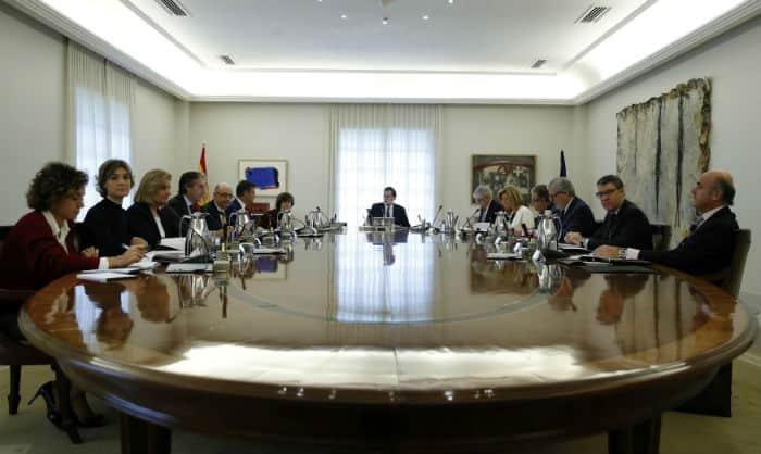 Reunión del Gobierno sobre la aplicación del 155.