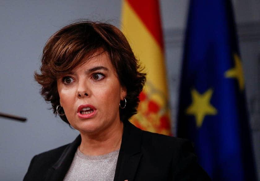 El Gobierno recurrirá la investidura de Puigdemont.
