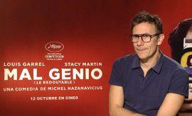 Entrevista a Michel Hazanavicius por la película que presenta sobre Godard.