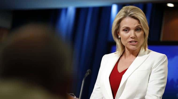 Heather Nauert fijó posición sobre el nuevo presidente cubano