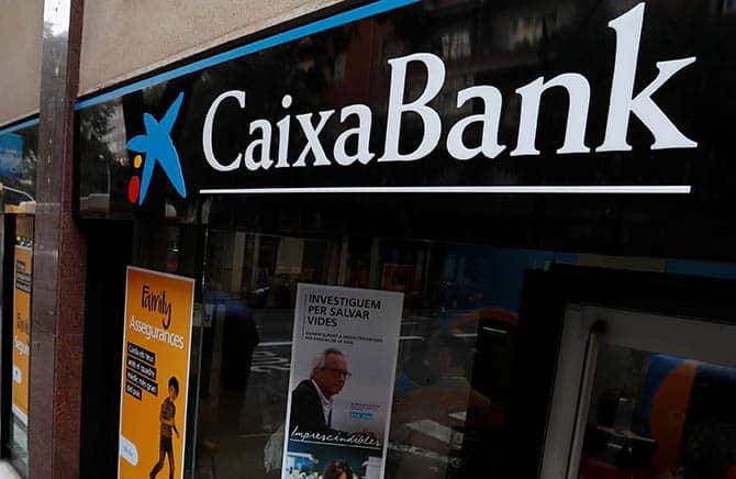 En el caso de una declaración independentista Caixabank se irá de Cataluña.