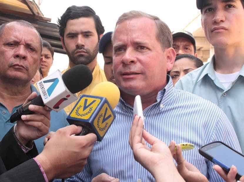 El Gobernador electo del Zulia, Juan Pablo Guanipa, fue impedido de tomar su cargo