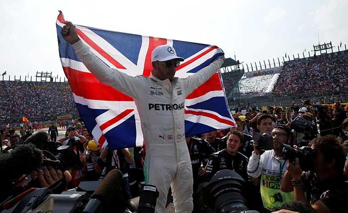 Lewis Hamilton se lleva el título de la F1 por cuarto año consecutivo. Reuters