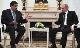 Maduro de Venezuela y Putin de Rusia