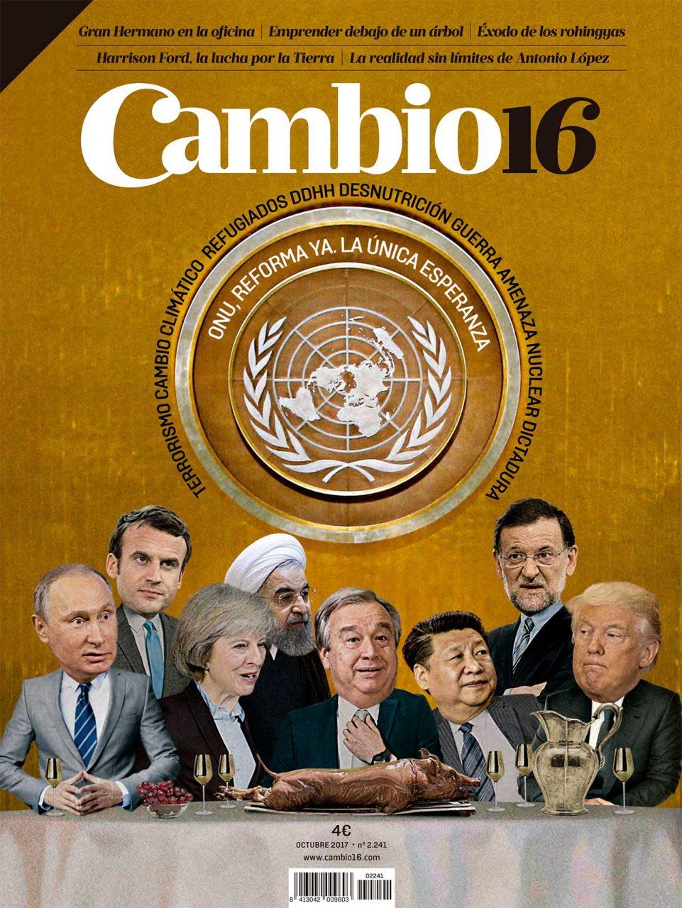 ONU: Reforma ya, la única esperanza revista Cambio 16 número 2.241