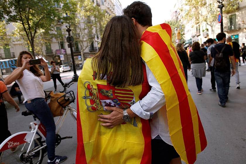 Crece la preocupación de los españoles sobre Cataluña.