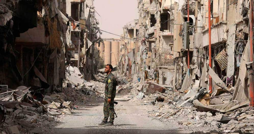 Más de 200,000 personas han muerto en Raqqa. (Reuters / Rodi Said)