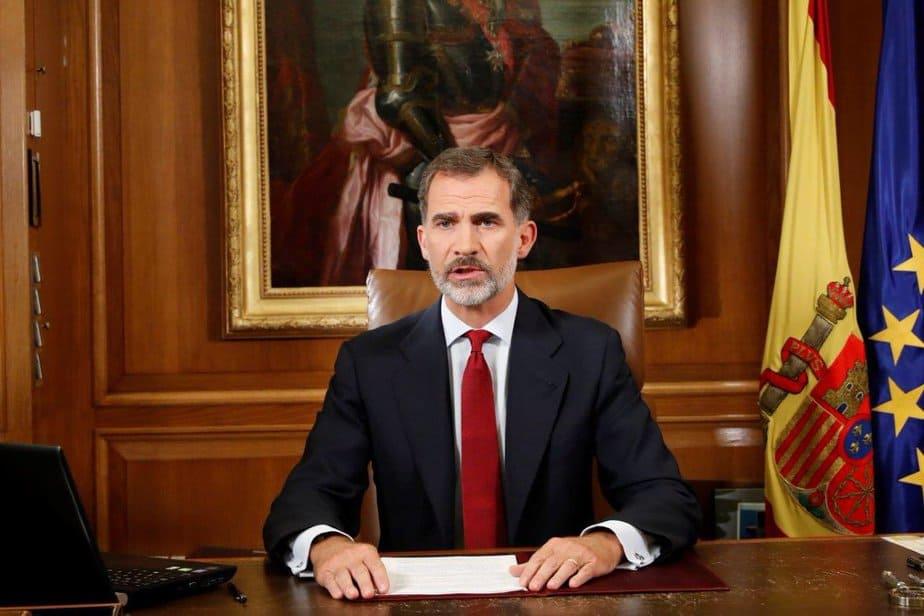Mensaje del Rey Felipe VI.