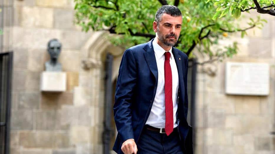 El conseller de Empresa y Conocimiento del gobierno catalán, Santi Vila